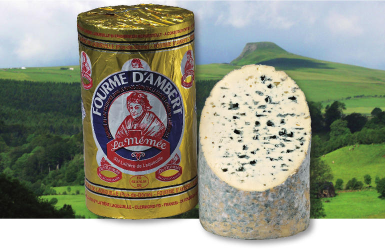 fourme d ambert aop fromagerie laqueuille