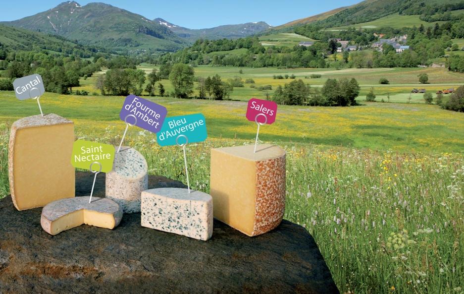 d couvrez les fromages de la r gion auvergne fromagerie laqueuille. Black Bedroom Furniture Sets. Home Design Ideas
